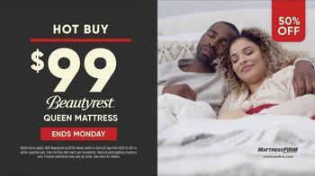 Mattress Firm Labor Day Sale TV Spot, 'Ends Monday: 50 Percent Off Beautyrest' - Thumbnail 8