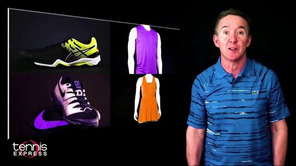 Tennis Express TV Commercial, 'Update Your Wardrobe'