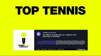 Tennis Channel Podcast Channel TV Spot, 'All In One Place' - Thumbnail 6