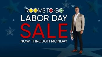 Rooms to Go Labor Day Sale TV Spot, 'Newspaper Coupons' Featuring Jesse Palmer - Thumbnail 1