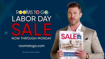 Rooms to Go Labor Day Sale TV Spot, 'Newspaper Coupons' Featuring Jesse Palmer - Thumbnail 10