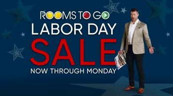 Rooms to Go Labor Day Sale TV Spot, 'Newspaper Coupons' Featuring Jesse Palmer - 3 commercial airings