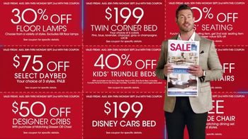 Rooms to Go Labor Day Sale TV Spot, 'Newspaper Coupons' Featuring Jesse Palmer - Thumbnail 8