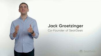 SeatGeek TV Spot, 'Jack's Guarantee: Football Tickets: $20 Off' - Thumbnail 2