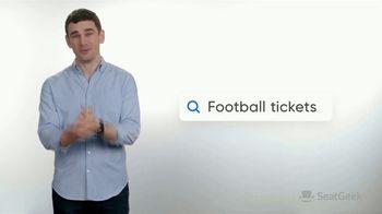 SeatGeek TV Spot, 'Jack's Guarantee: Football Tickets: $20 Off' - Thumbnail 3