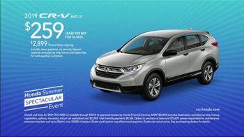 Honda Summer Spectacular Event TV Spot, 'Experience the Joy' [T2] - Thumbnail 9