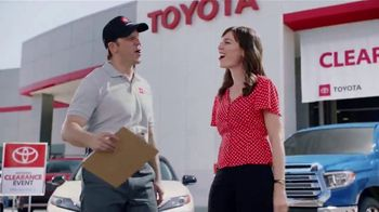 Toyota National Clearance Event TV Spot, 'Duet' [T2] - 176 commercial airings