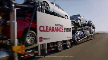 Toyota National Clearance Event TV Spot, 'Duet' [T2] - Thumbnail 1