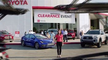 Toyota National Clearance Event TV Spot, 'Duet' [T2] - Thumbnail 8