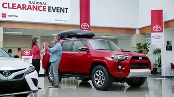 Toyota National Clearance Event TV Spot, 'Clap' Song by Fitz and the Tantrums [T2] - 397 commercial airings