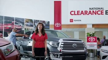 Toyota National Clearance Event TV Spot, 'Clap' Song by Fitz and the Tantrums [T2] - Thumbnail 1