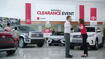 Toyota National Clearance Event TV Spot, 'Clap' Song by Fitz and the Tantrums [T2] - Thumbnail 8