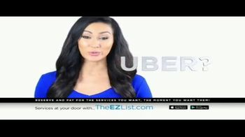 The EZ List TV Spot, 'Acces to All the Services You Use' - Thumbnail 1