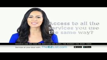 The EZ List TV Spot, 'Acces to All the Services You Use' - Thumbnail 3