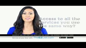 The EZ List TV Spot, 'Acces to All the Services You Use' - Thumbnail 4