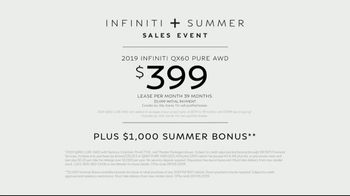 Infiniti  + Summer Sales Event TV Spot, 'Summer Nights' Song by Moonlight Breakfast [T2] - Thumbnail 9