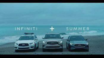 Infiniti  + Summer Sales Event TV Spot, 'Summer Nights' Song by Moonlight Breakfast [T2] - Thumbnail 8