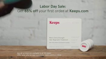 Keeps Labor Day Sale TV Spot, 'No More Covering Up' - Thumbnail 6