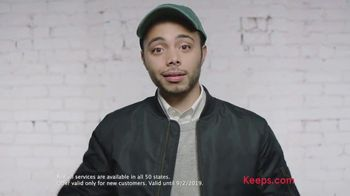 Keeps Labor Day Sale TV Spot, 'No More Covering Up' - Thumbnail 4