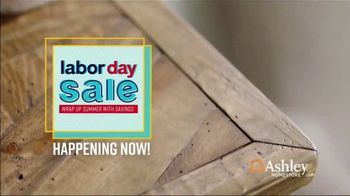 Ashley HomeStore Labor Day Sale TV Spot, 'Wrap Up Summer: 40% Off' Song by Midnight Riot - Thumbnail 10