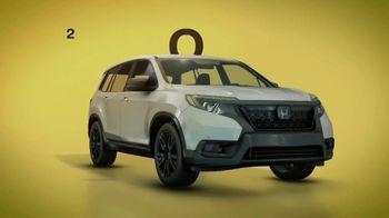 Honda Summer Spectacular Event TV Spot, 'Best SUV Brand' [T2] - Thumbnail 10