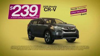 Honda Summer Spectacular Event TV Spot, 'Best SUV Brand' [T2] - Thumbnail 7