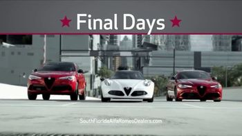 Alfa Romeo Labor Day Model Year-End Sale TV Spot, 'Final Days' [T2] - Thumbnail 9