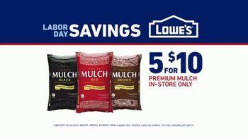 Lowe's Labor Day Savings TV Spot, 'Premium Mulch' - Thumbnail 7
