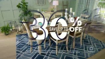 Ashley HomeStore Labor Day Sale TV Spot, 'Doorbusters: Dining Set' Song by Midnight Riot - Thumbnail 4