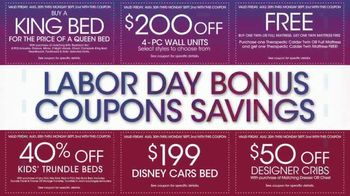 Rooms to Go TV Spot, '2019 Labor Day Bonus Coupons' - Thumbnail 6