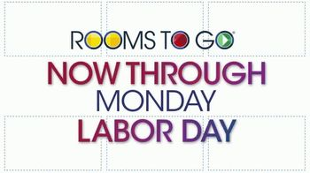 Rooms to Go TV Spot, '2019 Labor Day Bonus Coupons' - Thumbnail 2