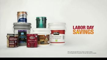 The Home Depot Labor Day Savings TV Spot, 'Find Your Color: Paints and Stains' - Thumbnail 7
