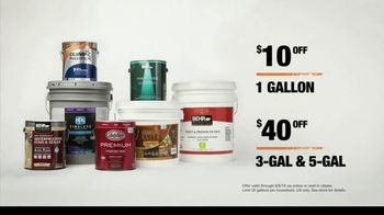 The Home Depot Labor Day Savings TV Spot, 'Find Your Color: Paints and Stains' - Thumbnail 8