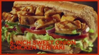 Subway $3.99 Sub of the Day TV Spot, 'Make It Count: Chicken Teriyaki, Turkey and Italian BMT' - Thumbnail 7