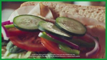Subway $3.99 Sub of the Day TV Spot, 'Make It Count: Chicken Teriyaki, Turkey and Italian BMT' - Thumbnail 9