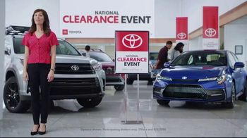 Toyota National Clearance Event TV Spot, 'Final Days: 2019s' [T2] - Thumbnail 1