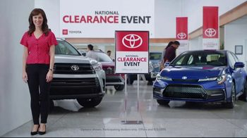 Toyota National Clearance Event TV Spot, 'Final Days: 2019s' [T2] - Thumbnail 2