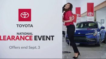 Toyota National Clearance Event TV Spot, 'Final Days: 2019s' [T2] - Thumbnail 5