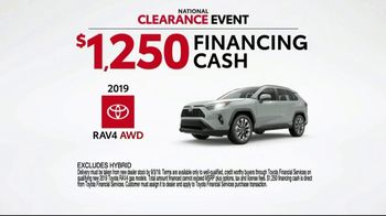 Toyota National Clearance Event TV Spot, 'Final Days: 2019s' [T2] - Thumbnail 7
