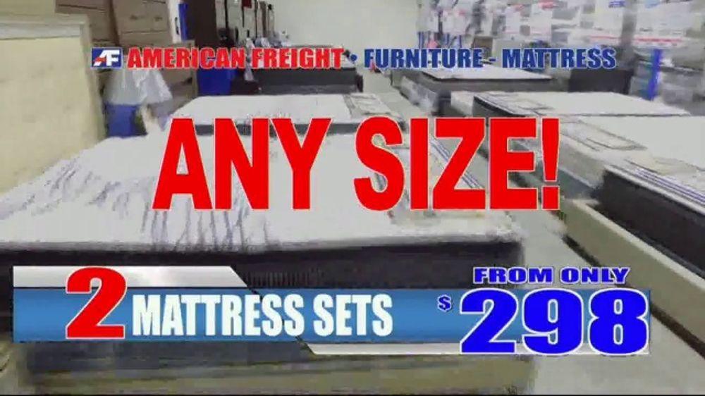 American Freight Tv Commercial Mattress Sets 49 Each