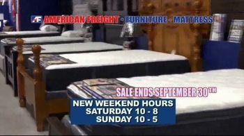 American Freight TV Spot, 'Mattress Sets: $49 Each Piece' - Thumbnail 10