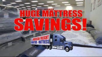 American Freight TV Spot, 'Mattress Sets: $49 Each Piece'