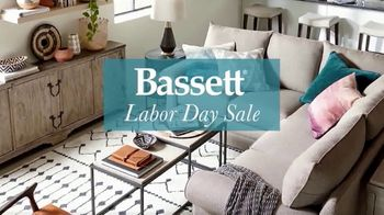 Bassett Labor Day Sale TV Spot, 'Special Buys Plus Furniture and Rugs' - Thumbnail 1
