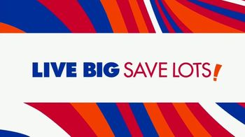Big Lots Big Labor Day Sale TV Spot, '$1 Initial Payment: Sofa, Loveseat and Sectionals' - Thumbnail 7
