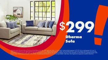 Big Lots Big Labor Day Sale TV Spot, '$1 Initial Payment: Sofa, Loveseat and Sectionals' - Thumbnail 4
