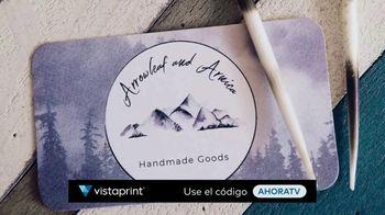Vistaprint TV Spot, 'Business Card Free Shipping: AHORATV' canción de Norman [Spanish] - Thumbnail 5