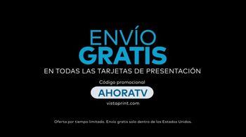 Vistaprint TV Spot, 'Business Card Free Shipping: AHORATV' canción de Norman [Spanish] - Thumbnail 7
