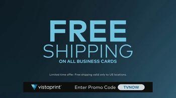 Vistaprint TV Spot, 'Business Card Free Shipping: TVNOW' - Thumbnail 5