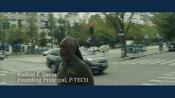 IBM TV Spot, 'Problem Solvers: Rashid F. Davis, Founding Principal, P-TECH' - Thumbnail 1