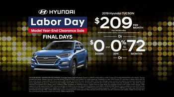 Hyundai Labor Day Model Year-End Clearance Sale TV Spot, 'Huge Savings' [T2] - Thumbnail 4